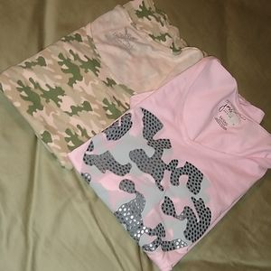 Just my Size 5X pink camo t-shirt and tank